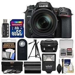 Nikon D7500 Wi-Fi 4K Digital SLR Camera & 16-80mm VR DX Lens