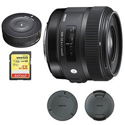 Sigma 30mm F1.4 ART DC HSM Lens for Canon Digital SLR Camera