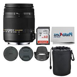 Sigma 18-250mm F3.5-6.3 DC Macro OS HSM for Nikon F Mount +