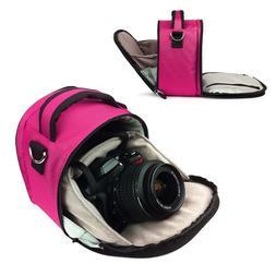 Vangoddy designed Magenta Hot PInk Small DSLR & SLR Camera B