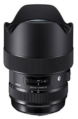Sigma 14-24mm F2.8 DG HSM, Black  for Canon