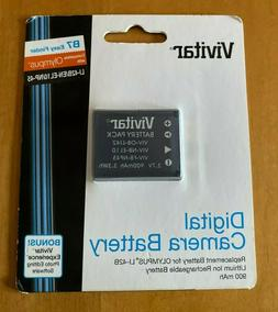 Vivitar Digital Camera Battery B7 Easy Finder Fits Olympus L
