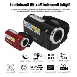 Digital Camera Full HD 720P Professional Video Camcorder 8X