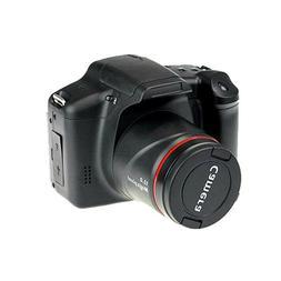 Digital Camera HD black 12mp cheap DSLR With 3.0'' TFT Displ