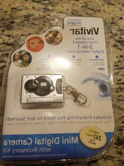 Digital Camera Key Chain Vivitar Mini Digital Camera