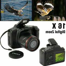 Digital SLR Camera 2.4Inch TFT LCD Screen HD 16MP 1080P 16X