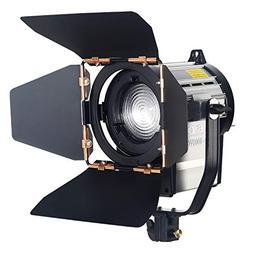 ASHANKS Dimmable Spotlight 100W LED Studio Fresnel Spot Ligh