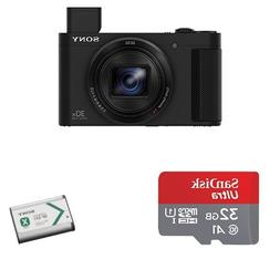 Sony DSCHX80/B High Zoom Point & Shoot Camera with Ultra 32G
