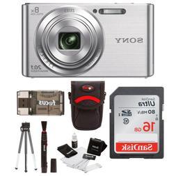Sony W830 20.1 Digital Camera with 2.7-Inch LCD  with 16GB C