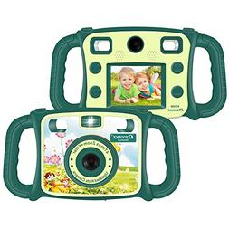 Prograce Kids Camera Dual Selfie Camera 1080P HD Video Recor