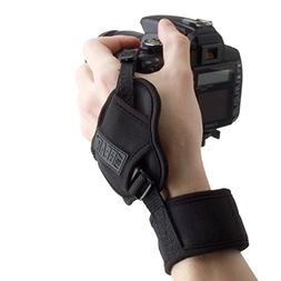 USA Gear Camera Wrist Hand Strap with Comfortable Neoprene D