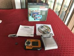 Coleman Duo 14 MP Purple Waterproof Digital Camera with Dual