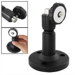 DVR CCTV Camera Plastic Wall Mount Bracket Stand Blk 5""