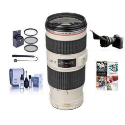 Canon EF 70-200mm f/4L IS USM Autofocus Lens Kit, USA - Bund