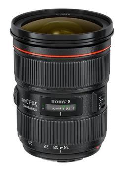 Canon EF 24-70mm f/2.8L USM Standard Zoom Lens for Canon SLR