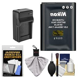 Nikon EN-EL23 Rechargeable Li-ion Battery with Charger + Kit