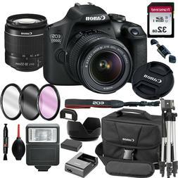 Canon EOS 2000D / Rebel T7 24.1MP  DSLR Camera + 18-55mm Len