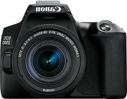 eos 250d rebel sl3 dslr camera w