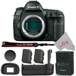 Canon EOS 5D Mark IV DSLR Camera Body + Extra Canon LP-E6N B