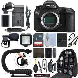Canon EOS 5DS 50.6 MP Full-Frame Digital SLR Camera Body + 6