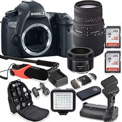 Canon EOS 6D 20.2 MP Full Frame CMOS DSLR Camera with EF 50m
