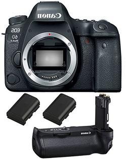 Canon EOS 6D Mark II DSLR Camera , Canon BG-E21 Battery Grip
