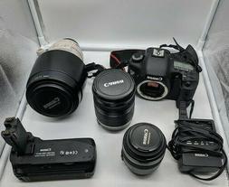 Canon EOS 7D 18 MP CMOS Digital SLR Camera + Canon EF 100-40