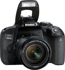 Canon EOS 800D / Rebel T7i Digital SLR with 18-55 is STM Len