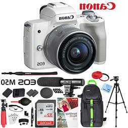 Canon EOS M50 Mirrorless Camera with 4K Video and EF-M 15-45