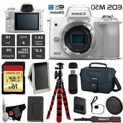 Canon EOS M50 Mirrorless Digital Camera  + 16GB Memory Card