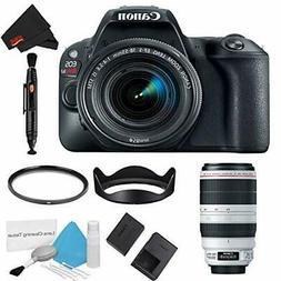 Canon EOS Rebel SL2 DSLR Camera +18-55mm Lens  Basic Kit + 1