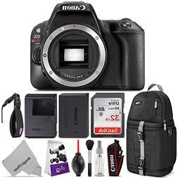 Canon EOS Rebel SL2 DSLR Camera Body w/Advanced Photo and Tr