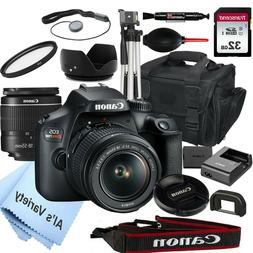 Canon EOS Rebel T100 18.0MP DSLR Camera with 18-55mm Lens+ 3