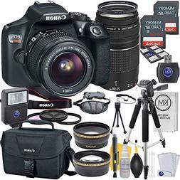 Canon EOS Rebel T6 DSLR Camera w/ EF-S 18-55mm Lens + EF 75-