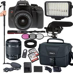 Canon EOS Rebel T6i 24.2 MP Digital SLR Camera with EF-S 18-