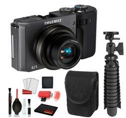 Samsung EX1 Digital Camera  with Essential Bundle  -Internat