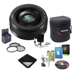 Panasonic 20mm f/1.7 Lumix II Aspherical Lens for Micro Four