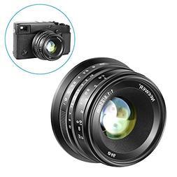 Neewer 25mm f/1.8 Manual Focus Prime Fixed Lens for Fujifilm
