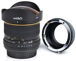 Oshiro 8mm f/3.5 LD UNC AL Wide Angle Fisheye Lens for Panas