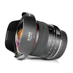 Meike 8mm f/3.5 Ultra Wide Angle Fisheye Lens for All Canon