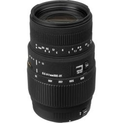 Sigma 70-300mm f/4-5.6 DG Macro Telephoto Zoom Lens for Cano