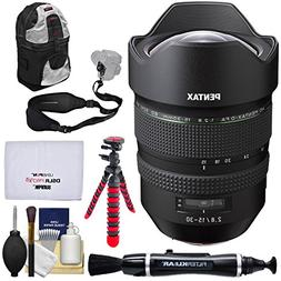 Pentax HD FA 15-30mm f/2.8 ED SDM WR Zoom Lens with Backpack