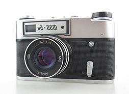 FED-5B USSR Soviet Union Russian 35 mm RF Leica Copy Film Ca