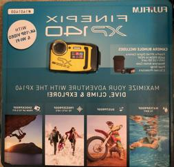 FUJIFILM FinePix XP140 Digital Camera blue/yellow7 Piece Bun