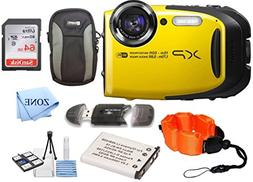 Fujifilm FinePix XP80 Waterproof Digital Camera with 2.7-Inc