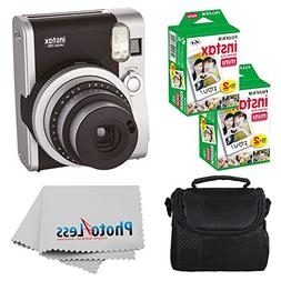 Fujifilm INSTAX Mini 90 Neo Classic Instant Camera  with 2X