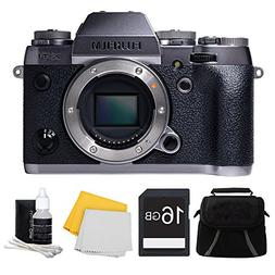 Fujifilm X-T1 Graphite Silver Mirrorless Digital Camera 16GB