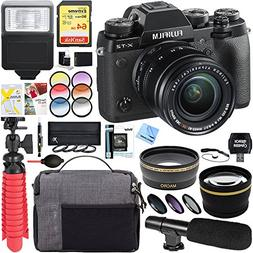 Fujifilm X-T2 24.3MP 4K Mirrorless Digital Camera + XF 18-55