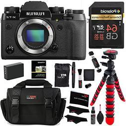 Fujifilm X-T2 Mirrorless Digital Camera , Polaroid 64GB, Mem