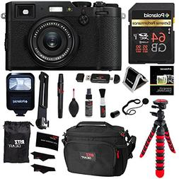 Fujifilm X100F 24.3 MP APS-C Digital Camera - Black, Polaroi